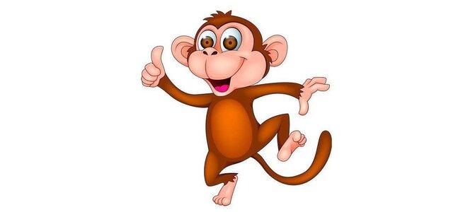 Мы желаем весь обезьяний год, водить весёлый хоровод.