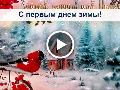 Pervyj Den Zimy Otkrytki Na Whatsapp Viber V Odnoklassniki